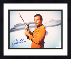 William Shatner Autographed 11x14 Photo Star Trek JSA Stock #159195