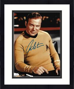 William Shatner Autographed 11x14 Photo Star Trek JSA Stock #178309