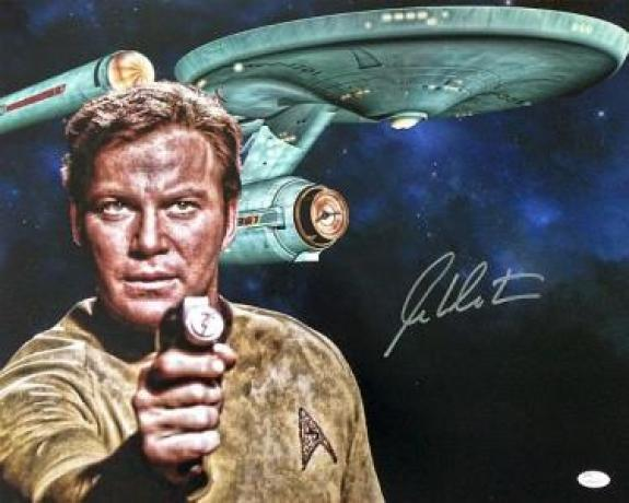 William Shatner Autographed 16x20 Photo
