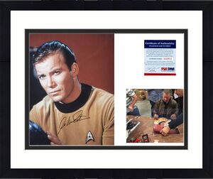 William Shatner AUTOGRAPHED 16x20 Star Trek Photo - PSA/DNA