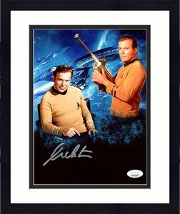 William Shatner Autographed 8x10 Photo Star Trek JSA Stock #178299
