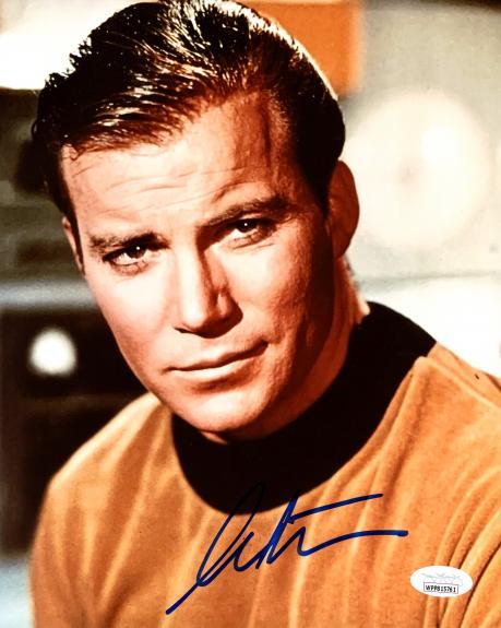 William Shatner Autographed 8x10 Photo Star Trek JSA Stock #178305
