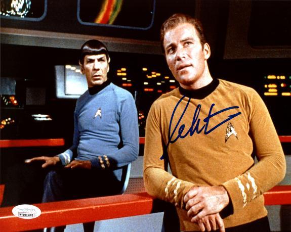 William Shatner Autographed 8x10 Photo Star Trek JSA Stock #178306