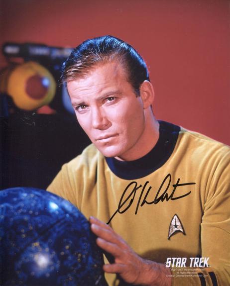 William Shatner Autographed 8x10 Photo