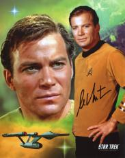 William Shatner Autographed 8x10 Photo