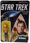 William Shatner Autographed Captain Kirk Action Figure - Beckett COA
