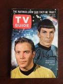 "William Shatner, ""Autographed"" (JSA),Star Trek ""TV Guide"" Set of (3),(No Lables)"