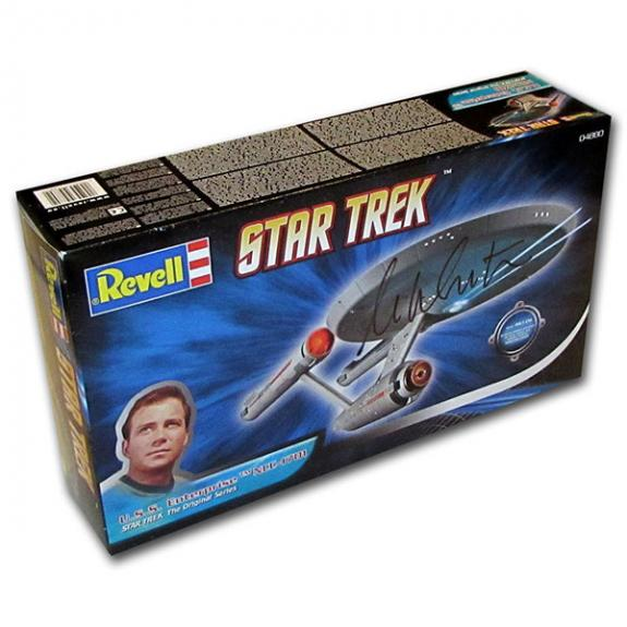 William Shatner Autographed Revell U.S.S. Enterprise