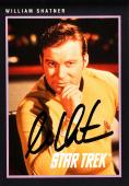 William Shatner Autographed Star Trek #263 Card - Beckett COA
