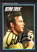 William Shatner Autographed Star Trek #89 Card - Beckett COA