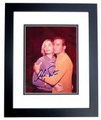 William Shatner Signed - Autographed STAR TREK 8x10 inch Photo BLACK CUSTOM FRAME - Guaranteed to pass PSA or JSA