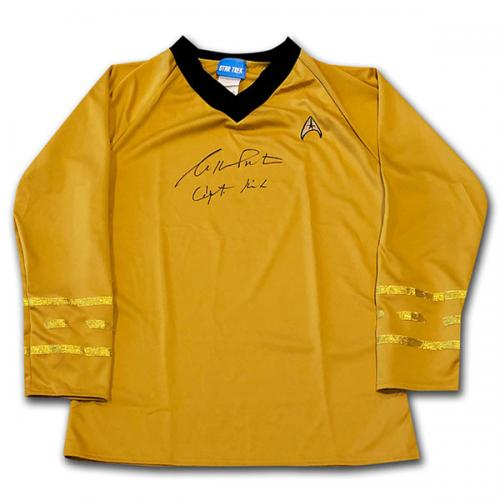 William Shatner Autographed Star Trek Shirt