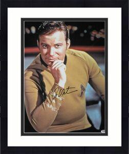 William Shatner Autographed/Signed Star Trek 16x20 Photo PSA 10157