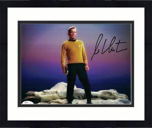 William Shatner Autographed/Signed Star Trek 8x10 Photo JSA 14689