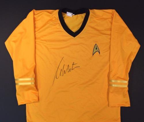 William Shatner Autographed/Signed Uniform (JSA COA)