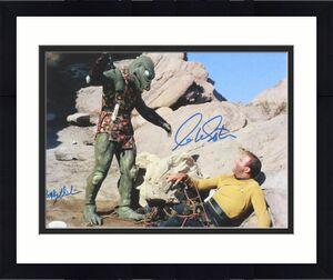 WILLIAM SHATNER & BOBBY CLARK AUTOGRAPHED 11x14 PHOTO (STAR TREK) - JSA COA!