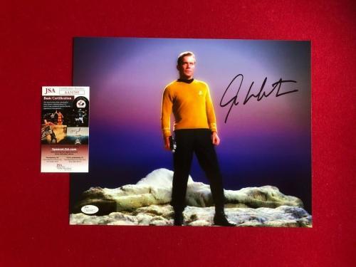 "William Shatner (Capt. Kirk), ""Autographed"" (JSA) 11x14 Photo (Scarce / Vinatge)"