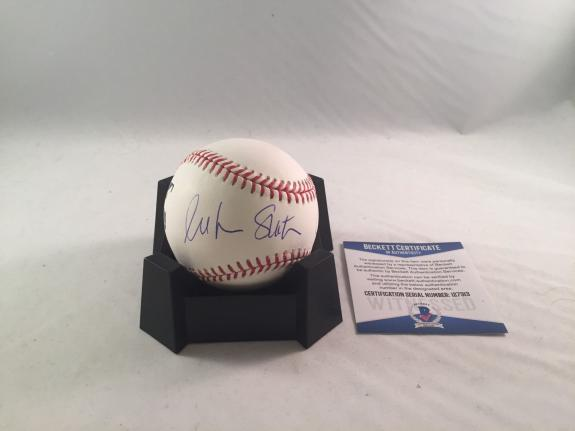 William Shatner Capt Kirk Signed Major League Baseball Bas Beckett Star Trek