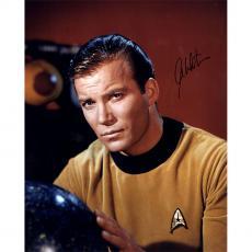William Shatner Captain Kirk Signed 16x20 star trek photo auto Steiner COA