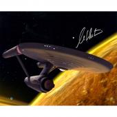 William Shatner Captain Kirk Signed 16x20 star trek photo autograph Steiner COA