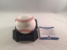 William Shatner Captain Kirk Signed Major League Baseball Bas Beckett Star Trek