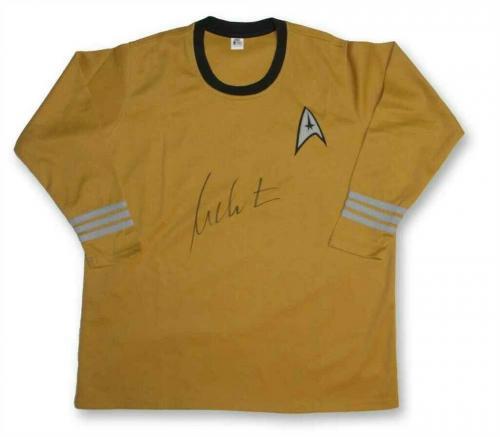 William Shatner Captain Kirk Star Trek Uniform Shirt Authentic BAS COA AFTAL