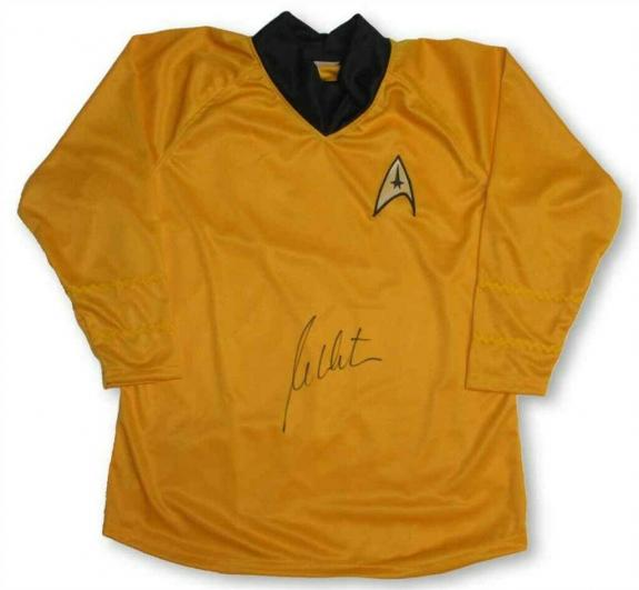 William Shatner Captain Kirk Star Trek Uniform Shirt Certified Authentic JSA COA