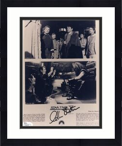 WILLIAM SHATNER HAND SIGNED 8x10 PHOTO      STAR TREK V     AWESOME+RARE     JSA