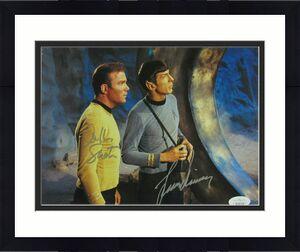 William Shatner Leonard Nimoy Signed Auto Autograph 8x10 Star Trek Photo JSA FF2