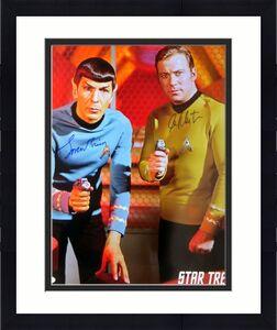 William Shatner Leonard Nimoy Signed Autograph 16X20 Photo Star Trek JSA BB59849