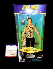 "William Shatner Signed 12"" Star Trek Collector Edition Action Figure Psa/dna"