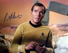 WILLIAM SHATNER SIGNED AUTOGRAPHED 11x14 PHOTO CAPTAIN KIRK STAR TREK PSA/DNA