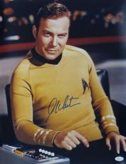 William Shatner Signed Autographed 16x20 Color Photo JSA Authenticated #3