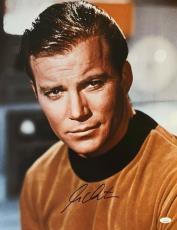William Shatner Star Trek Signed Autographed 16x20 Photo JSA Authenticated 4