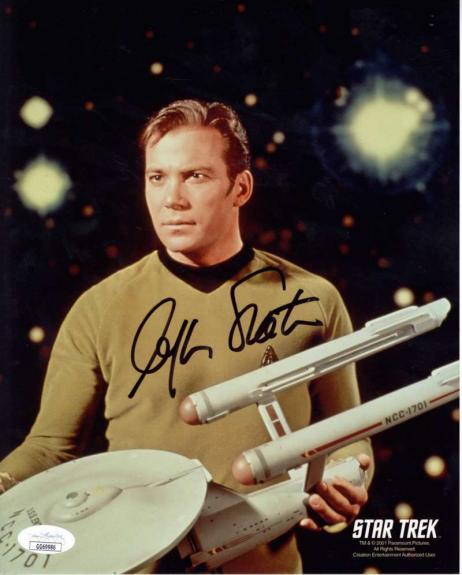 William Shatner Signed Autographed 8x10 Color Photo JSA
