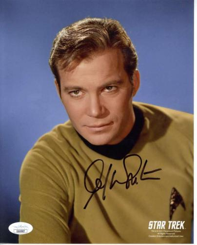 William Shatner Signed Autographed 8x10 Color Photo JSA  ID: 12168