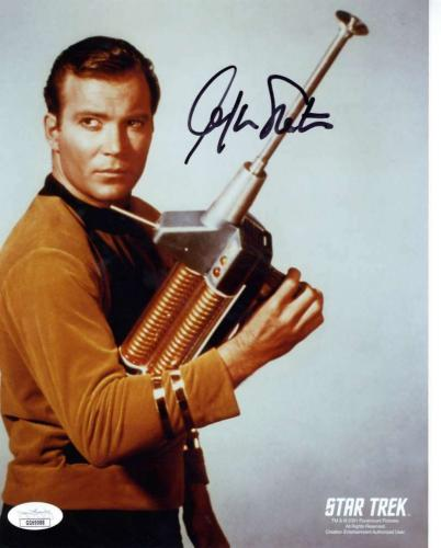 William Shatner Signed Autographed 8x10 Color Photo JSA  ID: 12169