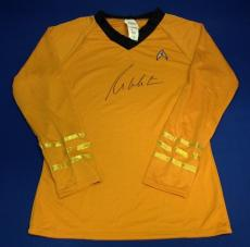 William Shatner Signed Autographed Star Trek Captain Kirk Costume PSA