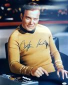 "William Shatner Signed "" Captain Kirk "" 16x20 Photo JSA"