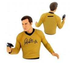 William Shatner Signed Captain Kirk Bust Bank