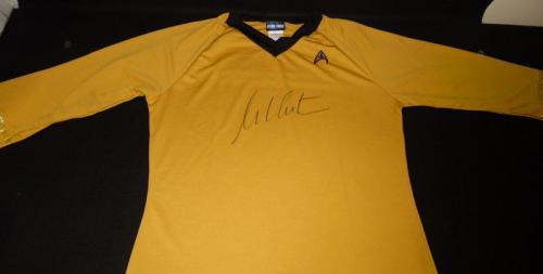 William Shatner Signed Captain Kirk Star Trek Shirt Jersey JSA