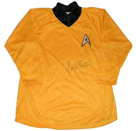 William Shatner Signed Captain Kirk Star Trek Shirt Uniform Costume Jsa