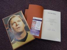 William Shatner Signed Deluxe Slipcase #ed Limited Ed Star Trek Memories Jsa Coa