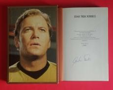 William Shatner Signed Deluxe Slipcase Numbered Ltd Edition Star Trek Memories