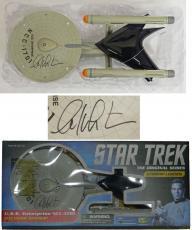 William Shatner Signed Diamond Star Trek Select U.S.S. Starship Enterprise