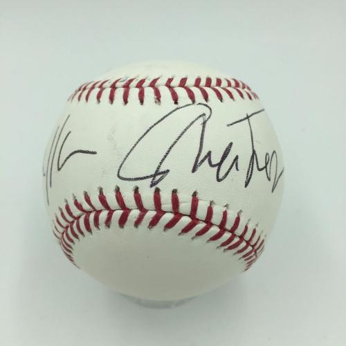 William Shatner Signed Official Major League Baseball JSA Sticker Star Trek
