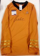 WILLIAM SHATNER Signed Official STAR TREK Captain Kirk Uniform Shirt PSA/DNA COA