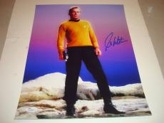 William Shatner Signed Star Trek 11x14 Photo Captain Kirk Autographed JSA COA 1A