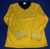 William Shatner signed Star Trek Captaiin Kirk Uniform Shirt PSA/DNA  COA