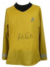 William Shatner Signed Star Trek Captain Kirk Costume Shirt JSA